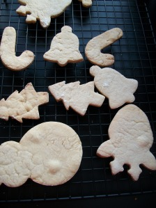 Christmas Non-Sugar Cookies
