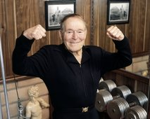 Jack LaLanne...looking as fit as ever.